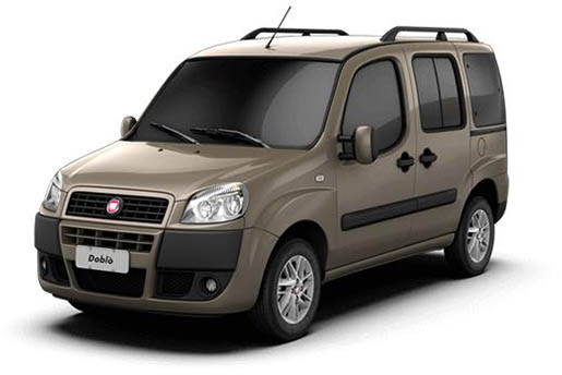 Fiat Doblo 7 Seat | Horeftakis tours | Rent a car |