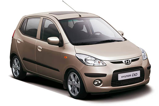 Hyundai i10 | Horeftakis tours | Rent a car |