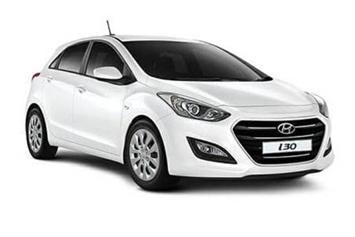 Hyundai i30 | Horeftakis tours | Rent a car |