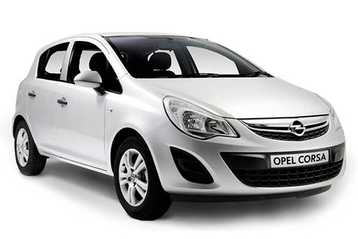 Opel corsa | Horeftakis tours | Rent a car |