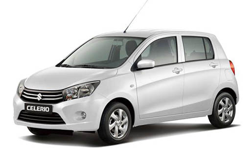 Suzuki celerio | Horeftakis tours | Rent a car |